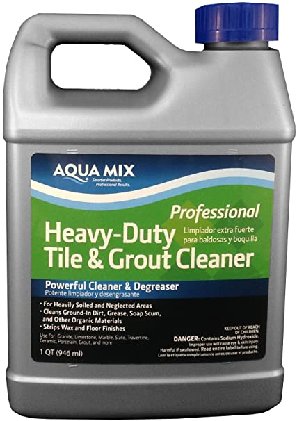 Aqua Mix Heavy Duty Tile And Grout Cleaner Quart Floor Cleaners