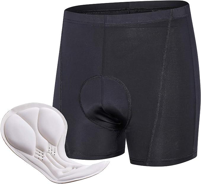 Fahrrad Herren//Damen Radhose 3D Gel Sitzpolster Unterhose Radfahren Shorts L-XL