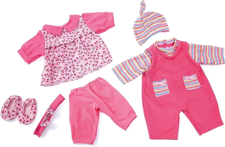 Bambole vestiti si adatta PIANTANA BAMBOLA 46-50cm grandi Set 3 pezzi