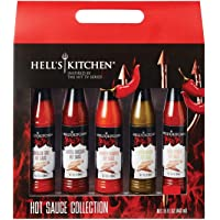 Hell's Kitchen Hot Sauce Collection Holiday Sampler Gift Set