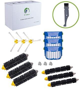 Para iRobot Roomba 650, 620,655, 770,780,790 Robot aspiradora partes de reposición, I-