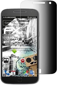 atFoliX Filtro de Privacidad Compatible con Lenovo Motorola Moto ...