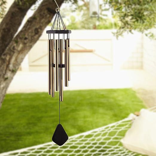 Trofou carillón para jardín casa decoración de jardín/colección de música mundial/alta calidad timbre para jardín Patio Porch Mobile de exterior o interior mejor ...