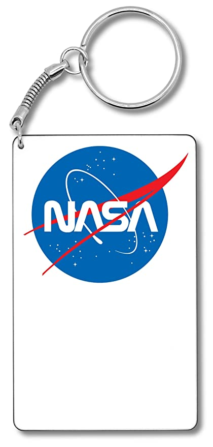NASA Original Blue Logo Llavero Llavero: Amazon.es: Equipaje