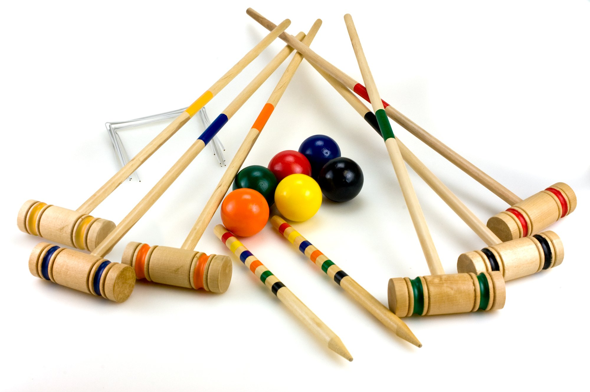 Sterling Sports Wooden Croquet Game
