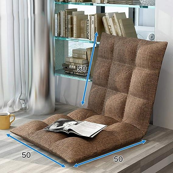 Amazon.com: ZAQI Folding Floor Chair Sofa Meditation, Adjustable Lazy Sofa for Indoor Bedroom Living Room (Color : Multi-Colored): Kitchen & Dining