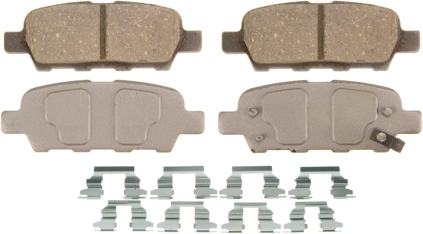 Rear Wagner QuickStop ZD1288 Ceramic Disc Pad Set