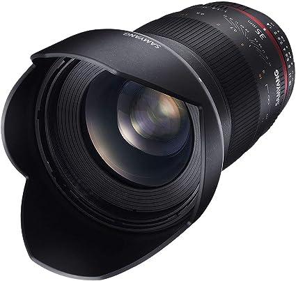 Samyang 35mm F1 4 Objektiv Für Anschluss Canon Ae Kamera