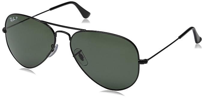 Ray-Ban 3025 Aviator - Lunettes de Soleil Polarisantes Noir - taille One  Size  Amazon.fr  Vêtements et accessoires 9ad530492f0b