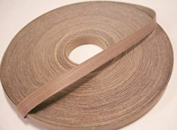 Easy Application Iron On with Hot Melt Adhesive Flexible Wood Tape Veneer Edge Banding Clear UV Laquer Finish Edging Edge Supply Brand Maple Pre-Finished 3//4 x 50 Roll Preglued
