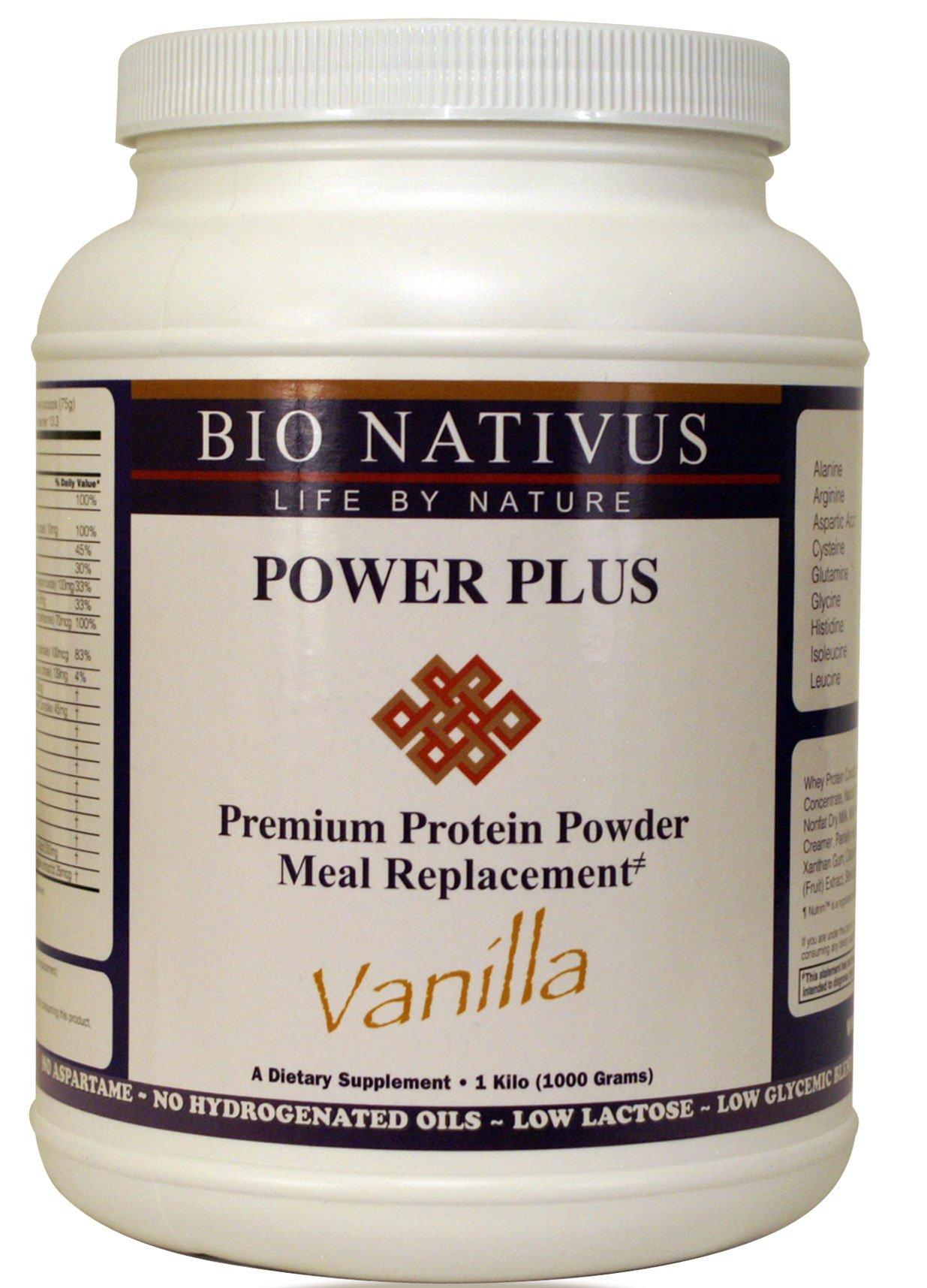 Bio Nativus Power Plus Premium Protein Meal Replacement Vanilla