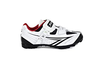 Spiuk Risko MTB - Zapatilla de ciclismo unisex, color blanco/negro, talla 43: Amazon.es: Deportes y aire libre
