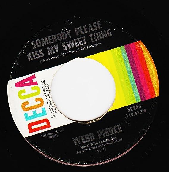 Amazon Luziannasomebody Please Kiss My Sweet Thing 745 Rpm