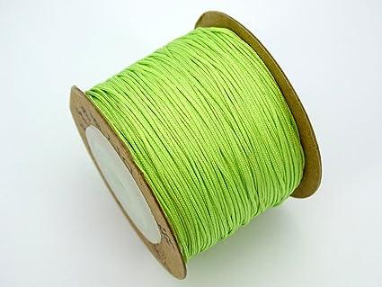 Satin Silk Braid Knotting Cord Thread Rope Roll Beading Jewelry Design Making
