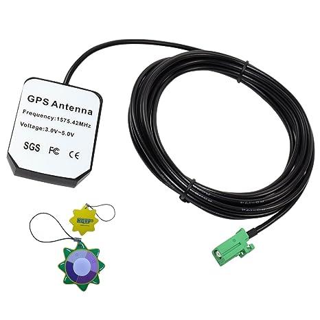 HQRP – Antena GPS para Pioneer AVIC-F910BT, Avic-F9110BT, AVIC-
