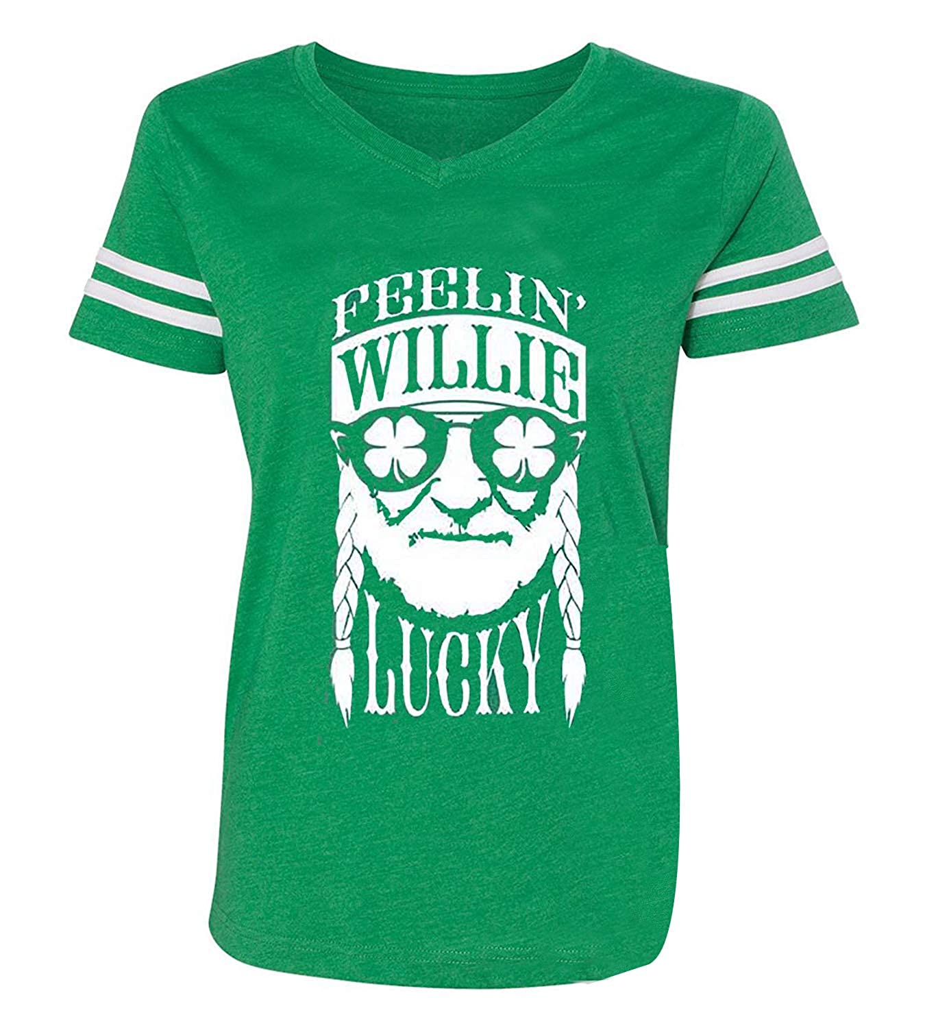 cfb2b3041 HRIUYI Feelin' Willie Lucky St. Patrick's Day Shirts Women Funny Irish  Shamrock Tops Blouse at Amazon Women's Clothing store:
