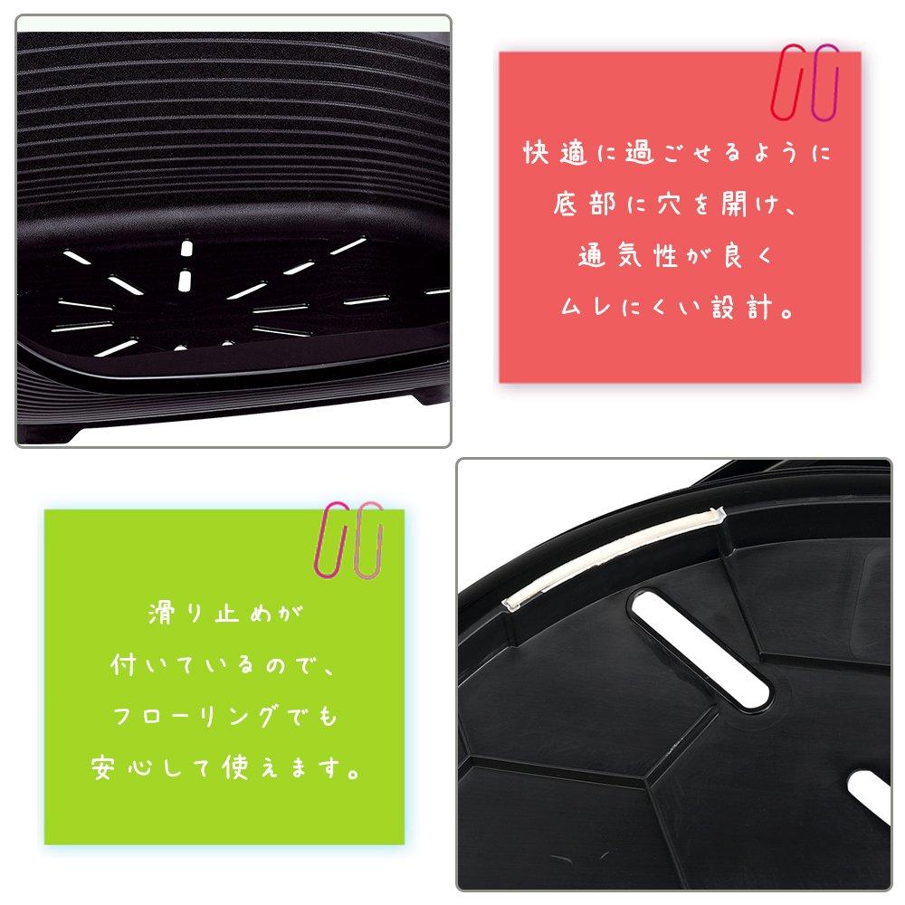 Ferplast - Cama de plástico modelo Siesta Deluxe 8 para perros: Amazon.es: Productos para mascotas