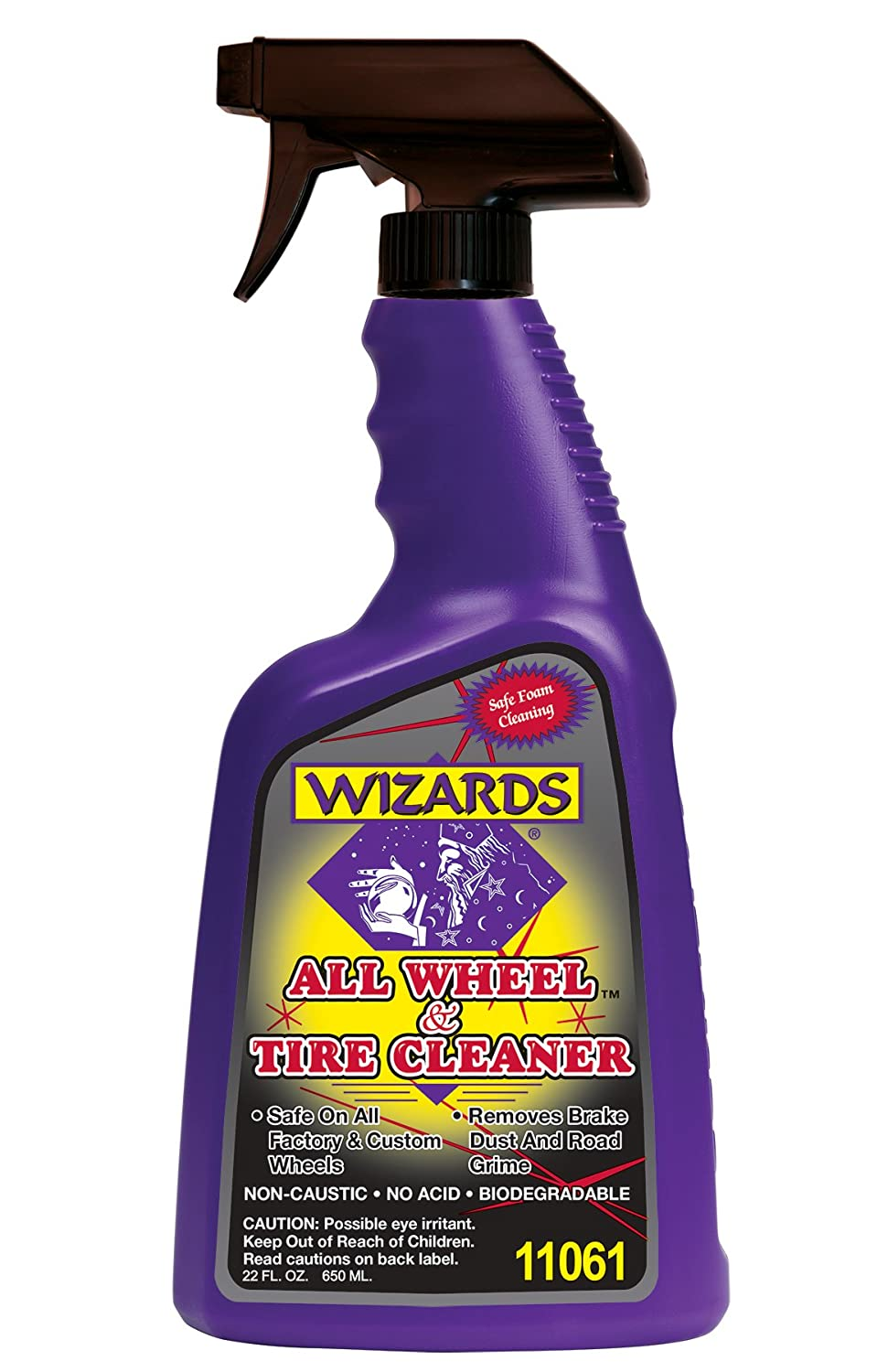 Wizards 11061 All Wheel and Tire Cleaner - 22 oz.