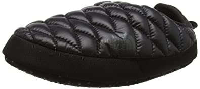 Womens The North Face Thermoball Tent Mule IV Water Resistant Slippers - Shiny Black/Baluga  sc 1 st  Amazon.com & Amazon.com | Womens The North Face Thermoball Tent Mule IV Water ...
