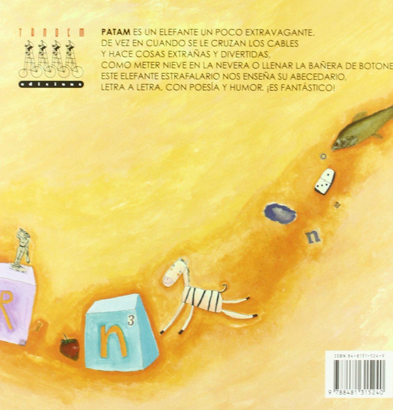 El abecedario fantàstico de Patam, el elefante Àlbums Il·lustrats ...