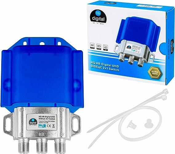1x Hq Diseqc Schalter Switch 2 Elektronik