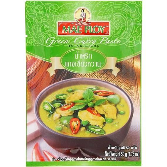 Allied Mepuroi pasta de curry verde 50g