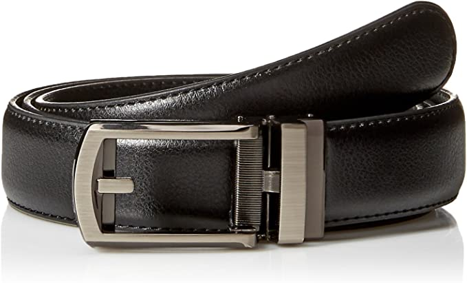 Comfort Click Boys Adjustable Perfect Fit Pebble Leather Belt As Seen On Tv