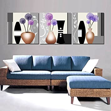 Max Home@ Wohnzimmer Malerei Moderne Einfache Rahmenlose Malerei Sofa  Hintergrund Wand Dreifach Malerei Wandmalerei (