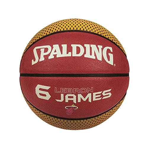 SPALDING nba player james balones de baloncesto Burdeos Talla:7 ...