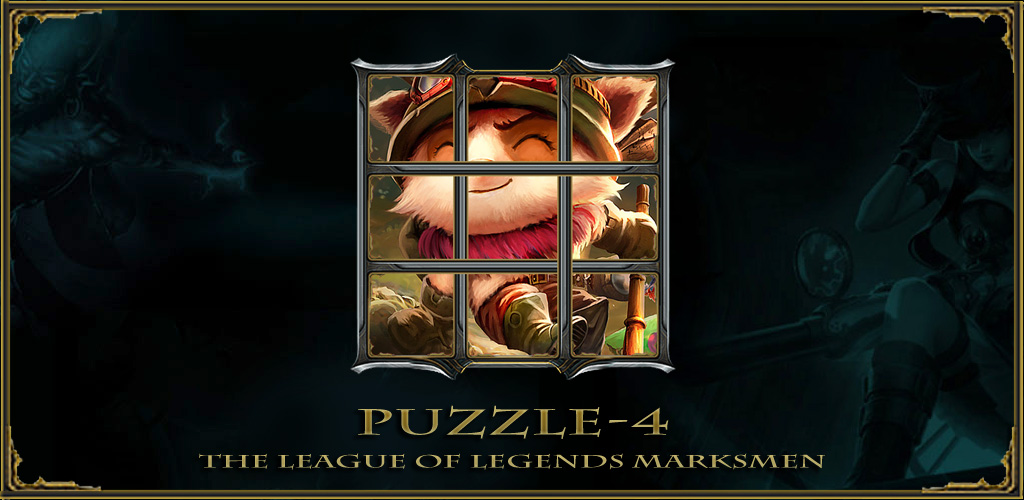 Amazon.com: Marksman Puzzle-4 for League of Legends ...