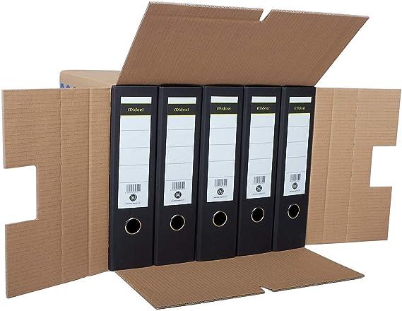 10 cajas de cartón de 2 ondas de calidad profesional: Amazon.es: Oficina y papelería