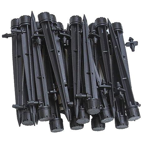 abc306cd554049 UCLEVER Goutteurs d irrigation avec Connecteur pour Tube de 4mm 7mm,  Réglables 360