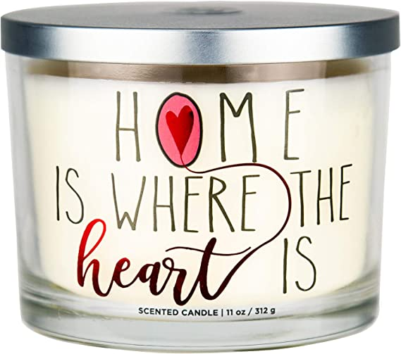 Scented Candle Cinnamon Spice Christmas 14.7 Oz 3 Wicks Haven St