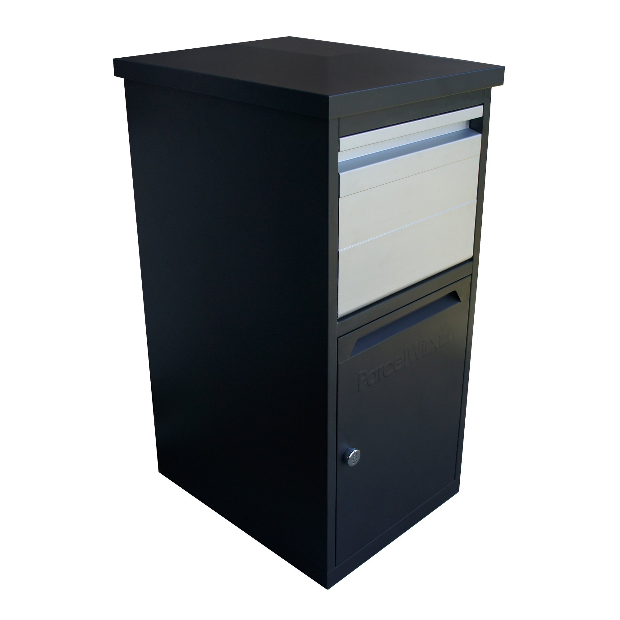 RTS Home Accents 5502-00101A-70-81 Secure Dropbox Parcelwirx Parcel, Graphite by RTS Home Accents