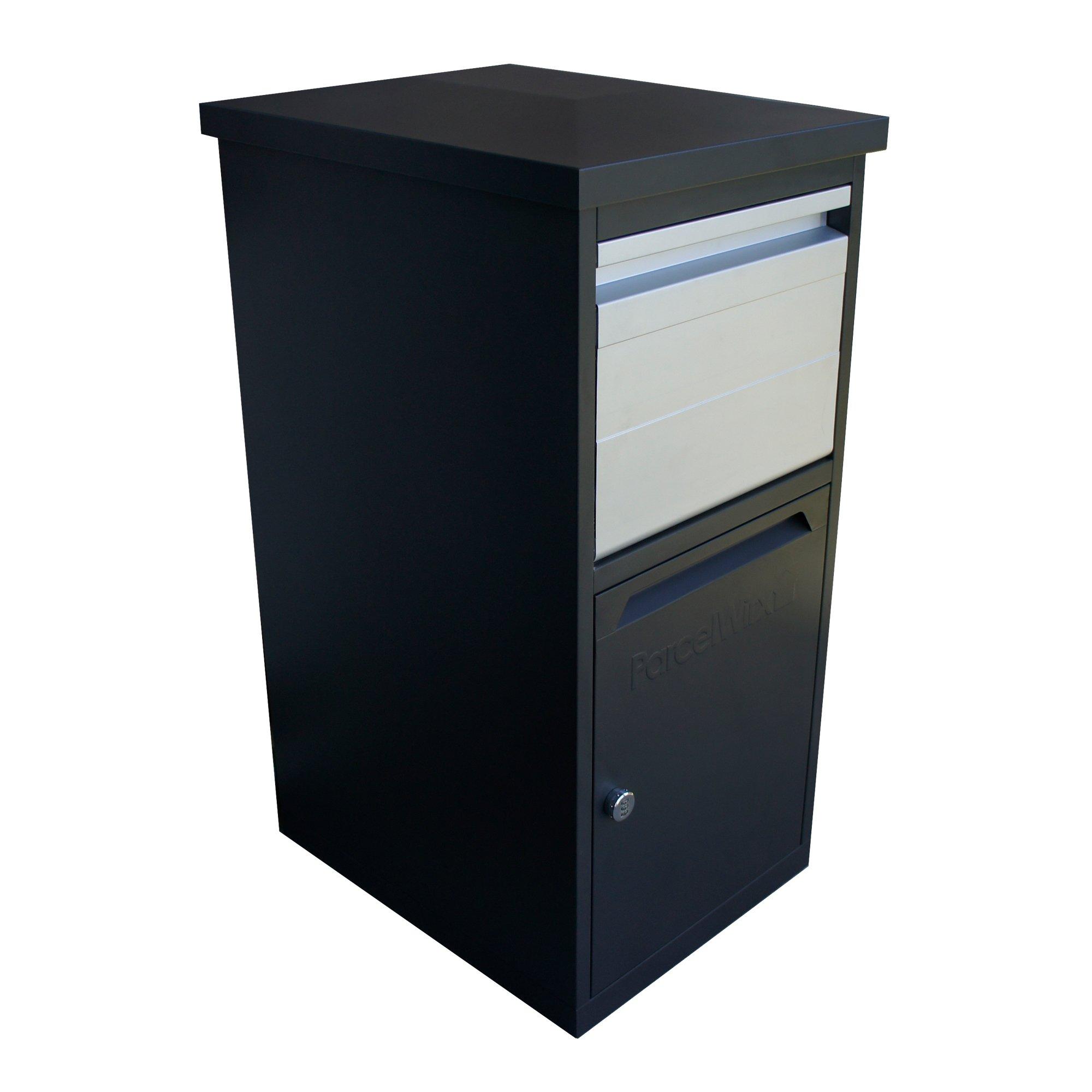 RTS Home Accents 5502-00101A-70-81 Secure Dropbox Parcelwirx Parcel, Graphite