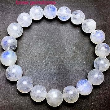 0ee3e431147 Amazon.com: Excellent Quality Rainbow Moonstone bracelet, Rainbow ...