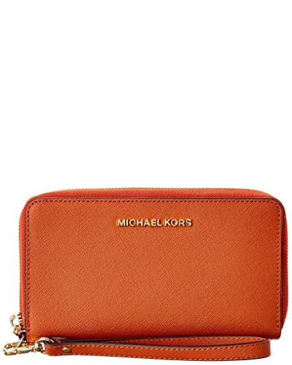 1a3366720fb2c4 Amazon.com : Michael Michael Kors Womens Jet Set Travel Large Leather Wallet  : Everything Else
