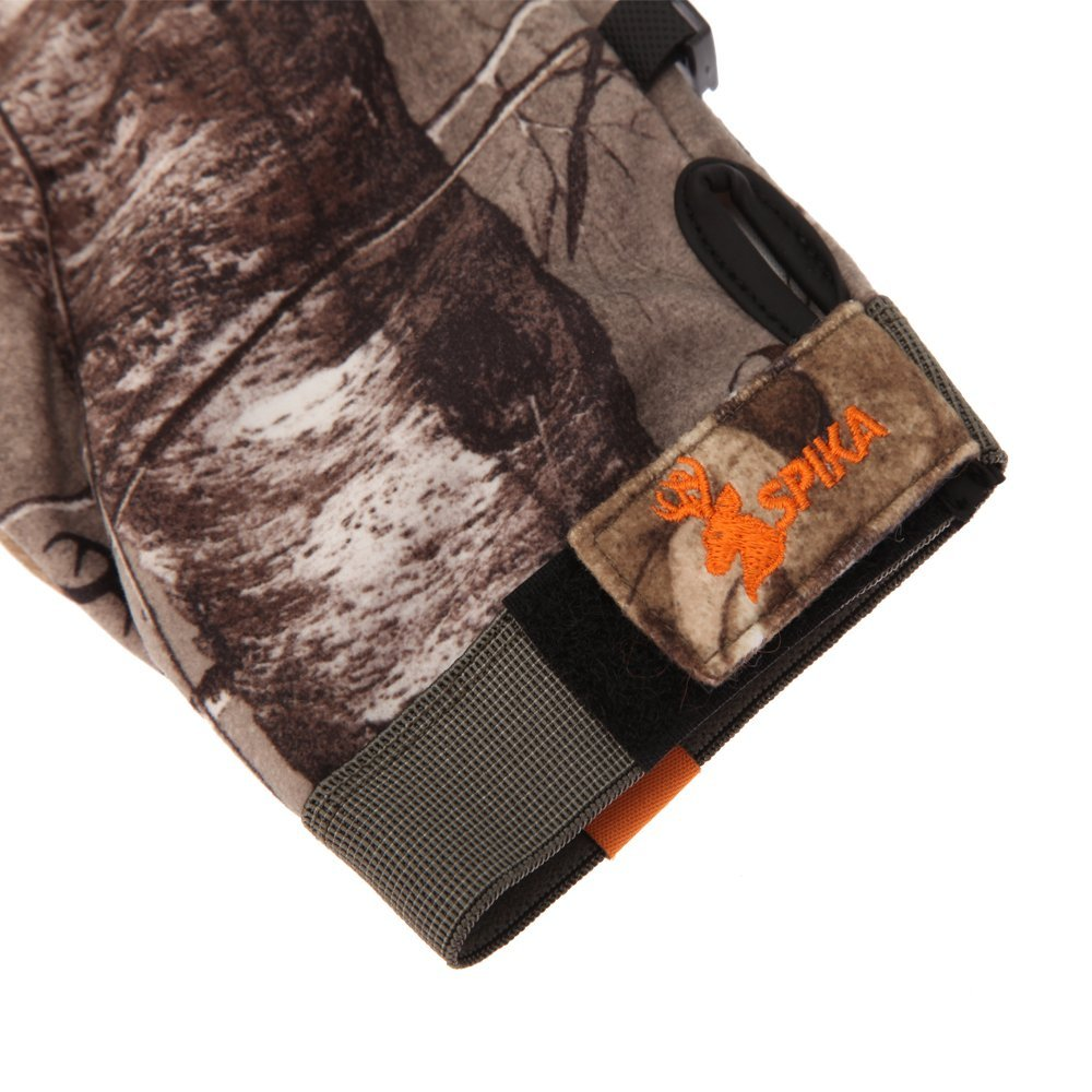 SPIKA Hunting Glove Camouflage Military Tactical for Shooting Driving padding Climbing