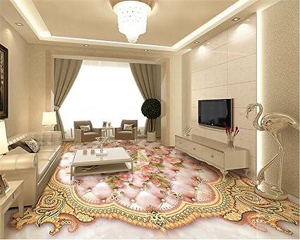 Lqwx d pavimentazione murale rosa europea morbida borsa rilievo