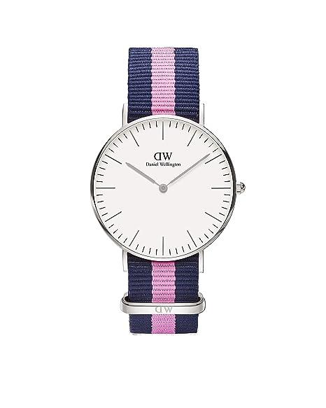 Daniel Wellington - Reloj analógico para mujer de nailon multicolor  Daniel  Wellington  Amazon.es  Relojes 1b22dd7490ff