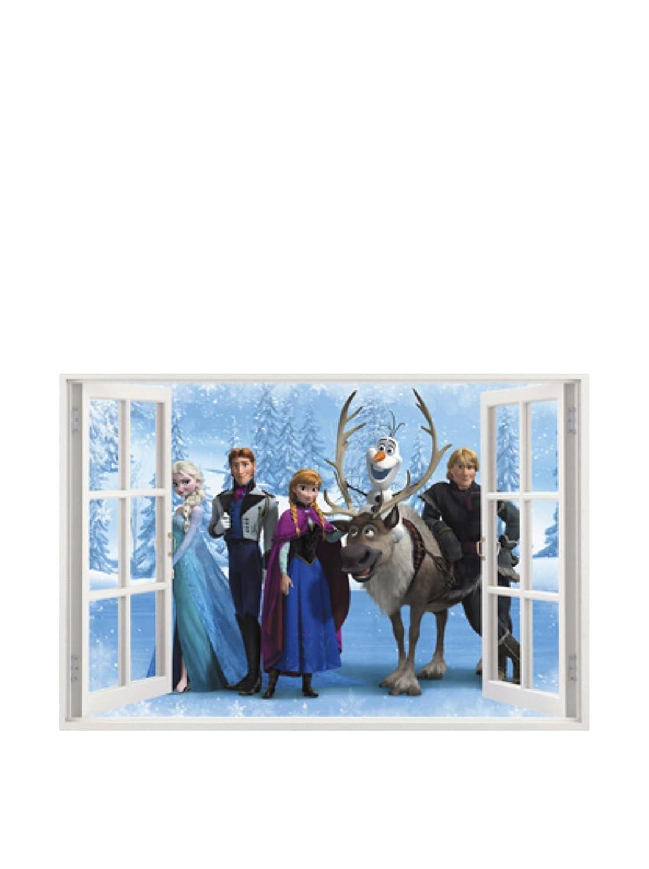SuperStudio LO+DEMODA Window of Frozen Vinilo Decorativo, 50x4x0.2 cm HCN1077-87 HCN1077-87_87