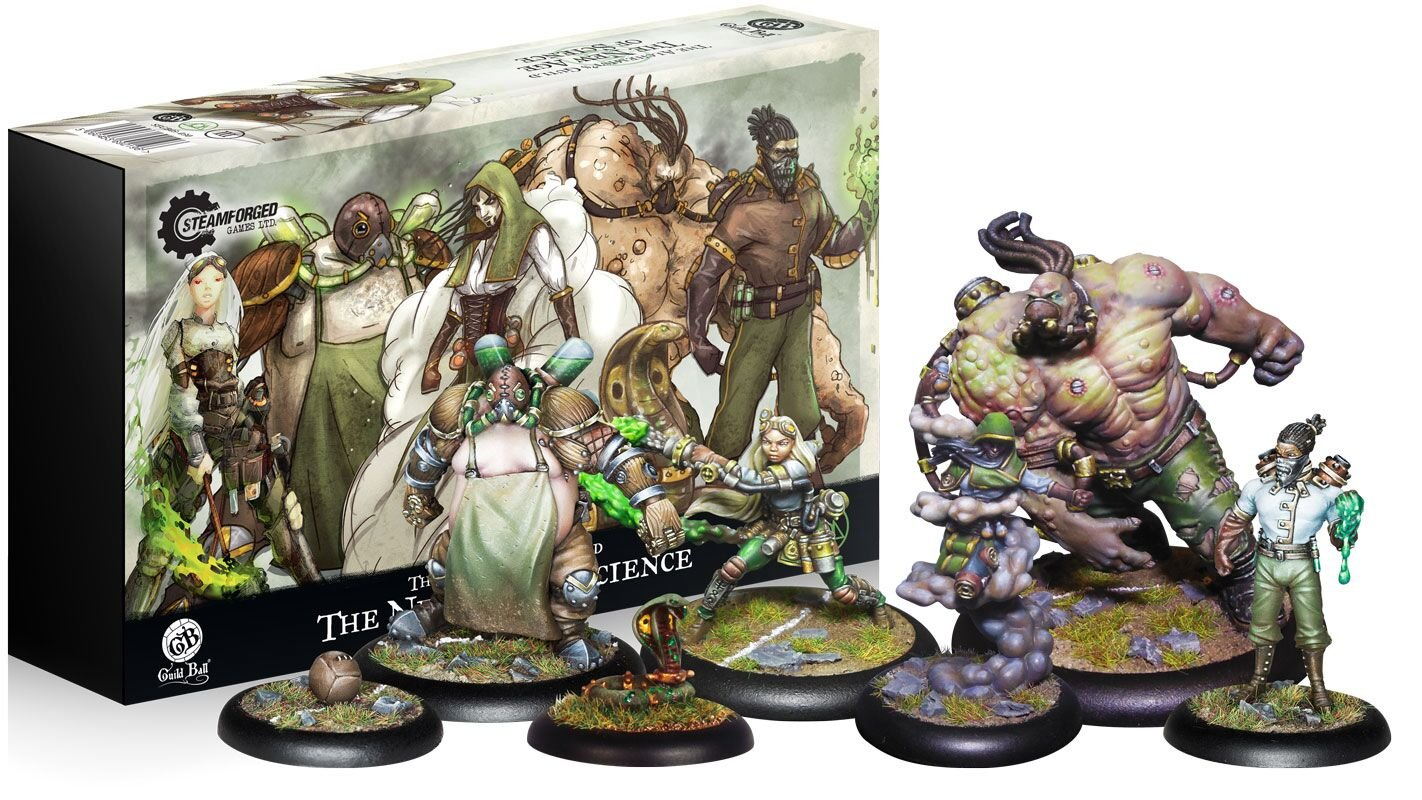 Steamfoged Games Guild Ball: Alchemist New Age of Science Miniature Game Figure
