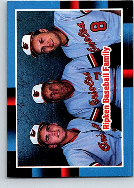 Amazoncom Baseball Mlb 1988 Donruss 625 Billy Ripkencal