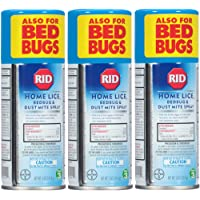 Rid Home Lice, Bedbug And Dust Mite Spray - 5 Ounces (Value Pack of 3)