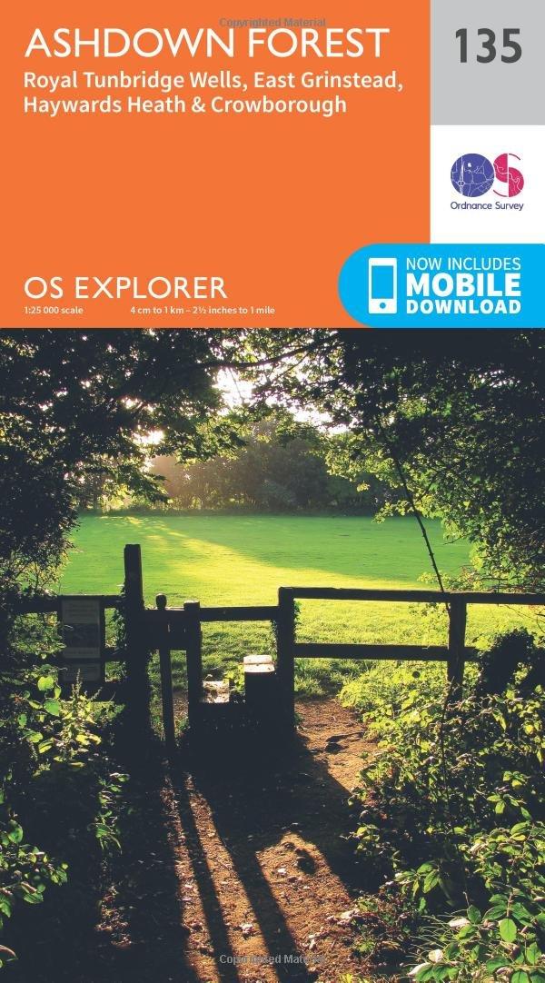 Ashdown Forest (OS Explorer Map Band 135)