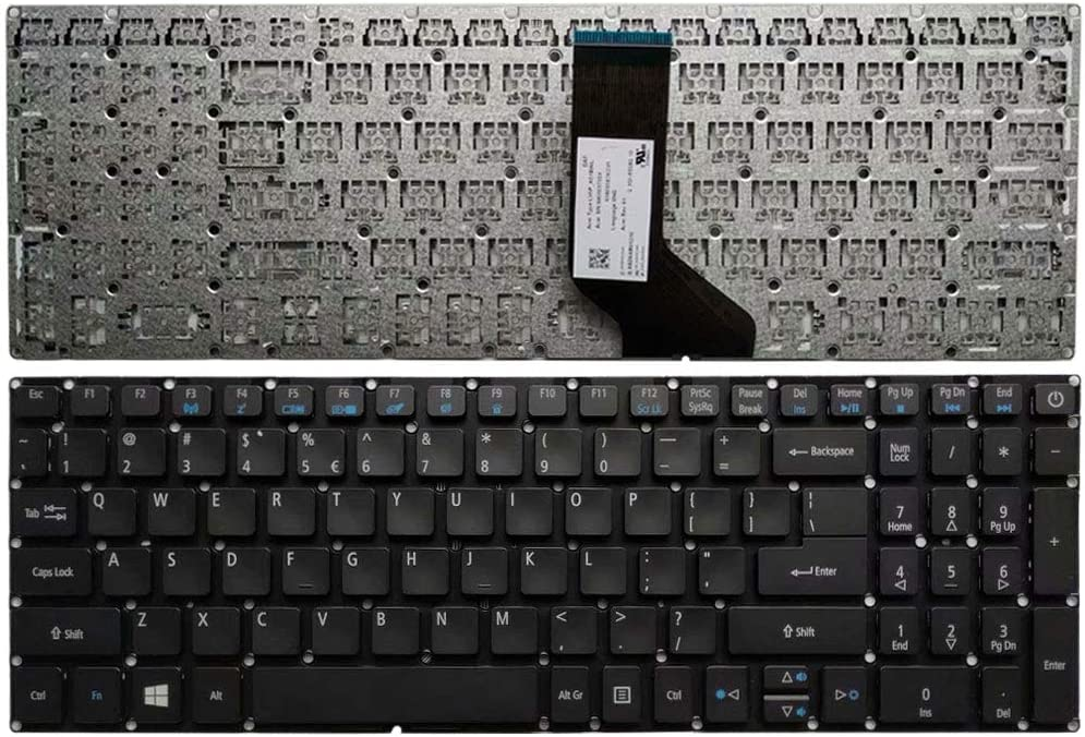 New Laptop Replacement Keyboard for Acer Aspire E5-772G E5-575 E5-575G E5-575T E5-575TG E5-575T E5-771 E5-771G E5-772 E5-722G ES1-523 ES1-523G ES1-533 ES1-572 US Layout