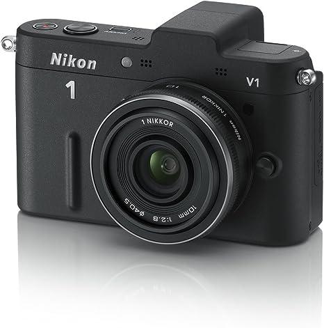 Nikon 1 V1 Systemkamera 3 Zoll Schwarz Inkl 1 Nikkor Kamera