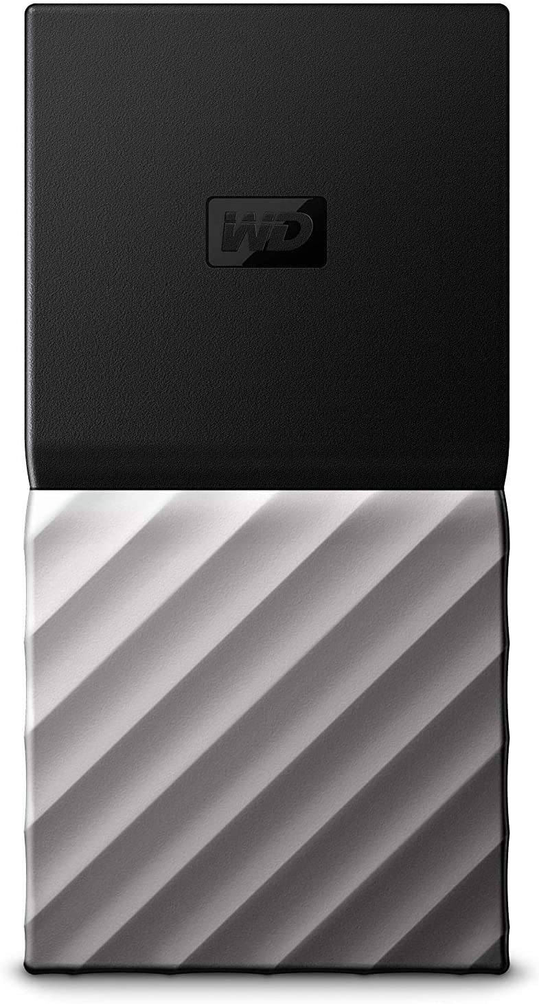 Western Digital WDBKVX0010PSL-WESN My Passport Portable SSD 1TB, Negro / plateado