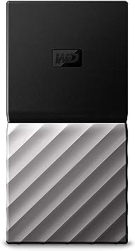TALLA 500 GB. Western Digital WDBKVX5120PSL-WESN My Passport Portable SSD 512GB, Negro / plateado