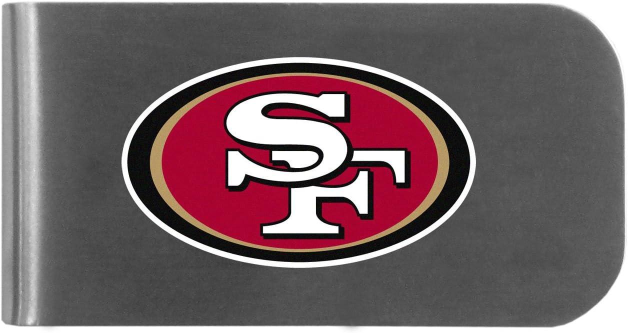 Siskiyou NFL unisex Logo Bottle Opener Money Clip